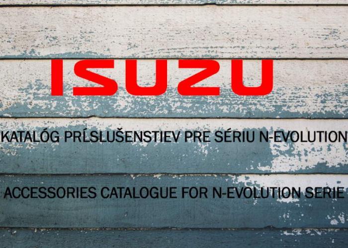 Katalóg príslušenstiev pre Sériu N-Evolution