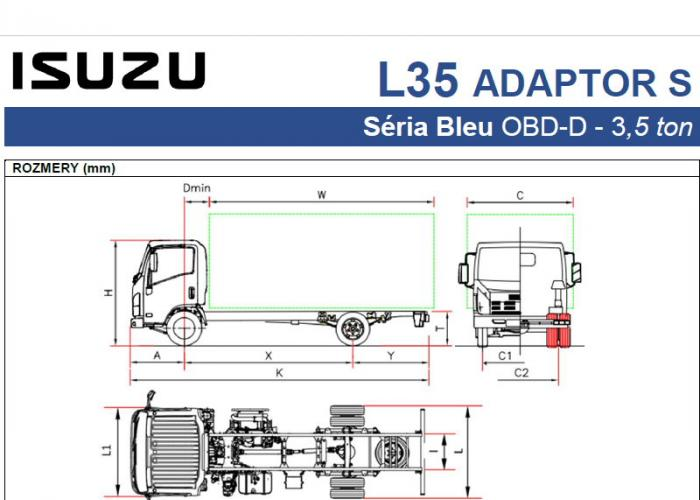 Katalóg Isuzu L35 Adaptor