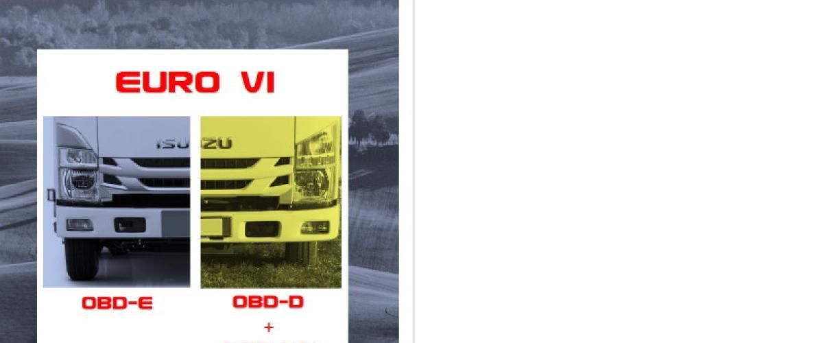 Katalóg Isuzu Séria N-F Euro VI OBD-D Safety Pack OBD-E